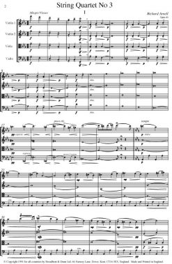 Richard Arnell - String Quartet No. 3