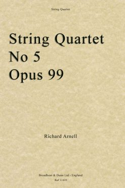 Richard Arnell - String Quartet No. 5