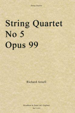 Richard Arnell - String Quartet No. 5