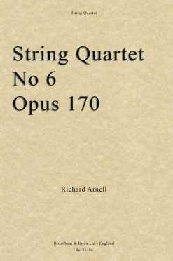 Richard Arnell - String Quartet No. 6