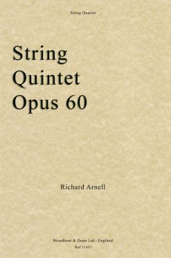 Richard Arnell - String Quintet