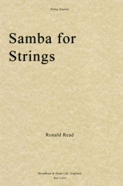 Ronald Read - Samba for Strings (String Quartet)