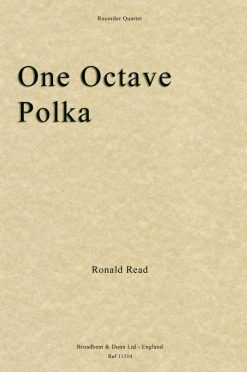 Ronald Read - One Octave Polka (Recorder Quartet)