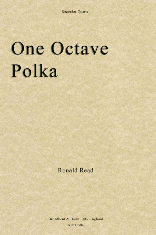 Ronald Read - One Octave Polka (Recorder Quartet)