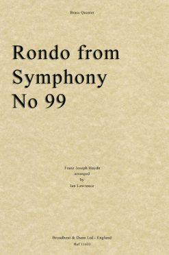 Haydn - Rondo from Symphony No. 99 (Brass Quintet)