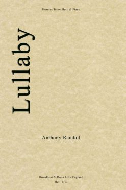 Anthony Randall - Lullaby (Horn in F or Tenor Horn in E Flat & Piano)