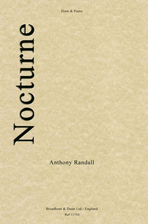 Anthony Randall - Nocturne (Horn in F & Piano)