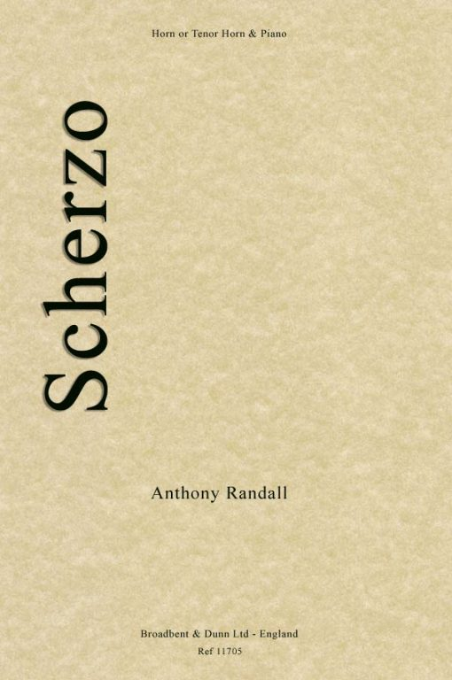 Anthony Randall - Scherzo (Horn in F or Tenor Horn in E Flat & Piano)