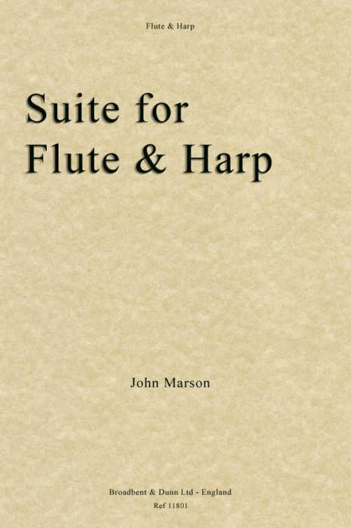 John Marson - Suite for Flute and Harp