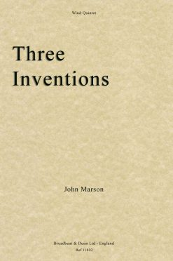 John Marson - Three Inventions (Wind Quintet)