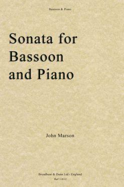 John Marson - Sonata for Bassoon & Piano