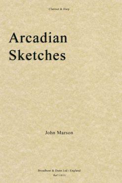 John Marson - Arcadian Sketches (Clarinet & Harp)