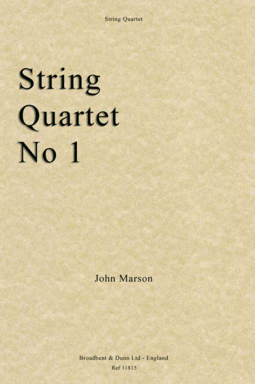 John Marson - String Quartet No. 1