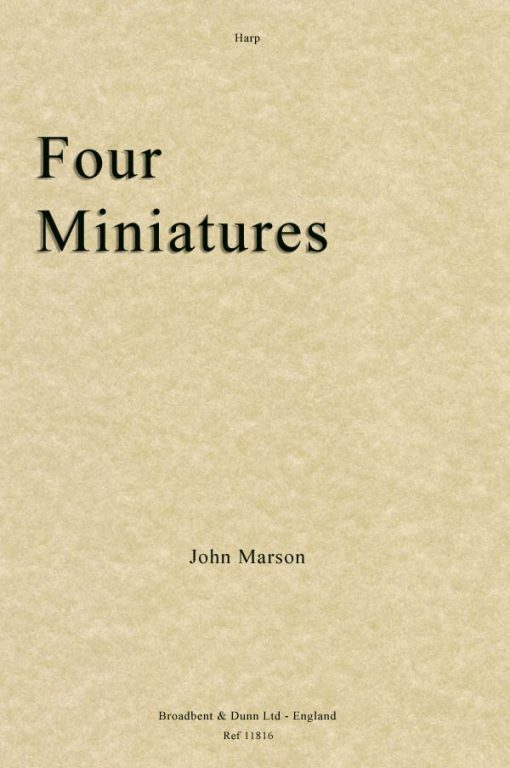 John Marson - Four Miniatures (Harp)
