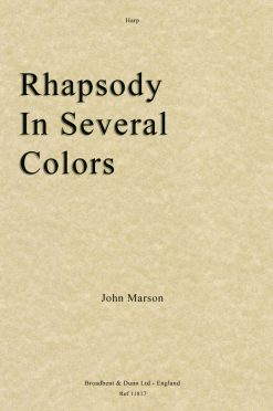 John Marson - Rhapsody In Several Colors (Harp)