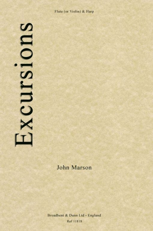 John Marson - Excursions (Flute or Violin & Harp)