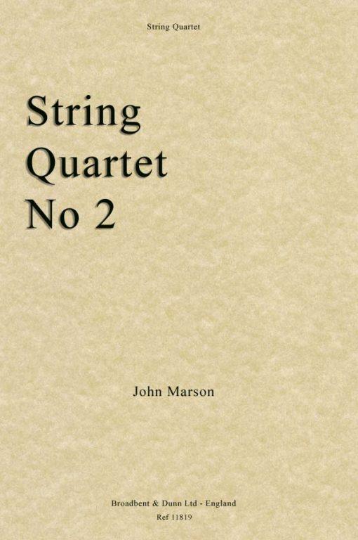 John Marson - String Quartet No. 2