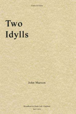 John Marson - Two Idylls (Violin & Piano)