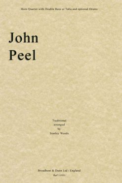 Traditional - John Peel (Horn Quartet with Double Bass or Tuba and optional Drums)