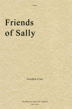Gordon Carr - Friends of Sally (Piano)