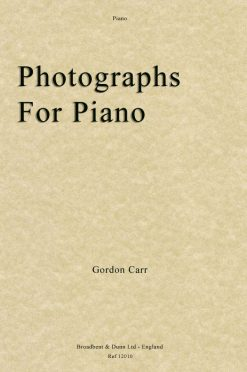 Gordon Carr - Photographs for Piano