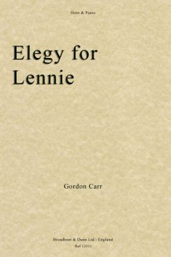 Gordon Carr - Elegy for Lennie (Horn & Piano)