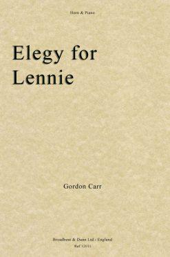 Gordon Carr - Elegy for Lennie (Horn & Piano)