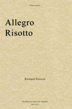 Richard Peirson - Allegro Risotto (String Quartet)