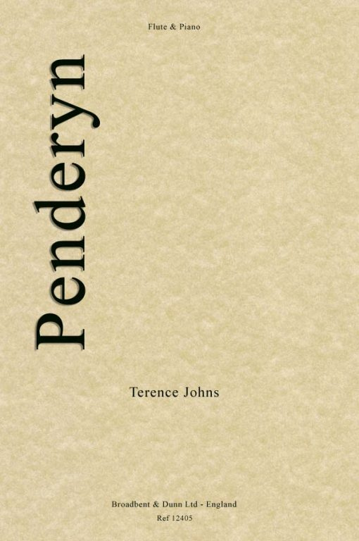 Terence Johns - Penderyn (Flute & Piano)