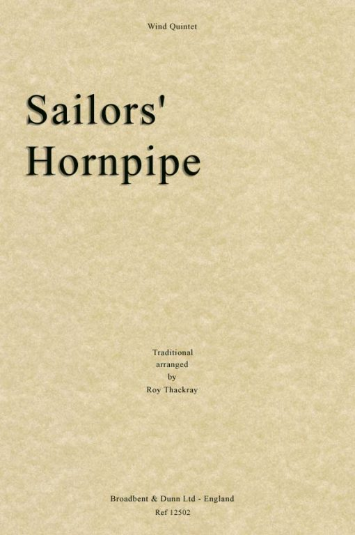 Traditional - Sailors' Hornpipe (Wind Quintet)