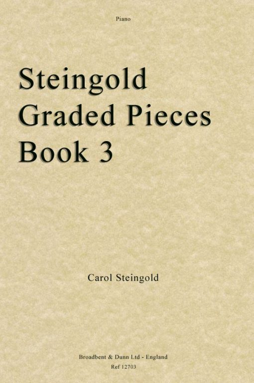 Steingold - Steingold Graded Pieces Book 3 (Piano)
