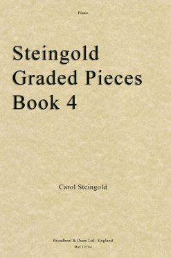 Steingold - Steingold Graded Pieces Book 4 (Piano)