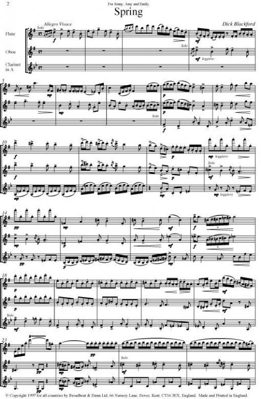 Dick Blackford - Spring (Flute