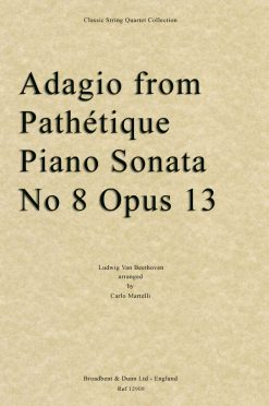 Beethoven - Adagio from Pathétique Piano Sonata No. 8