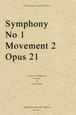 Beethoven - Symphony No. 1 Movement 2