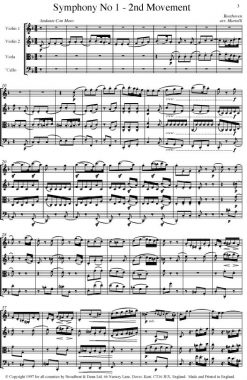 Beethoven - Symphony No. 1 Movement 2