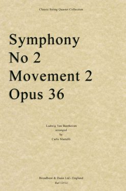 Beethoven - Symphony No. 2 Movement 2
