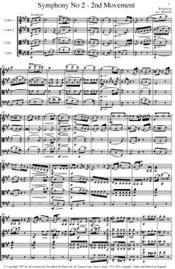 Beethoven - Symphony No. 2 Movement 2