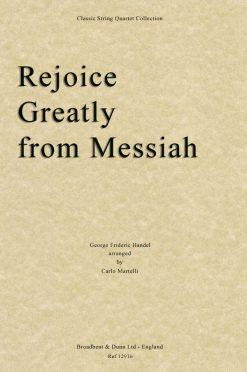 Handel - Rejoice Greatly from Messiah (String Quartet Parts)