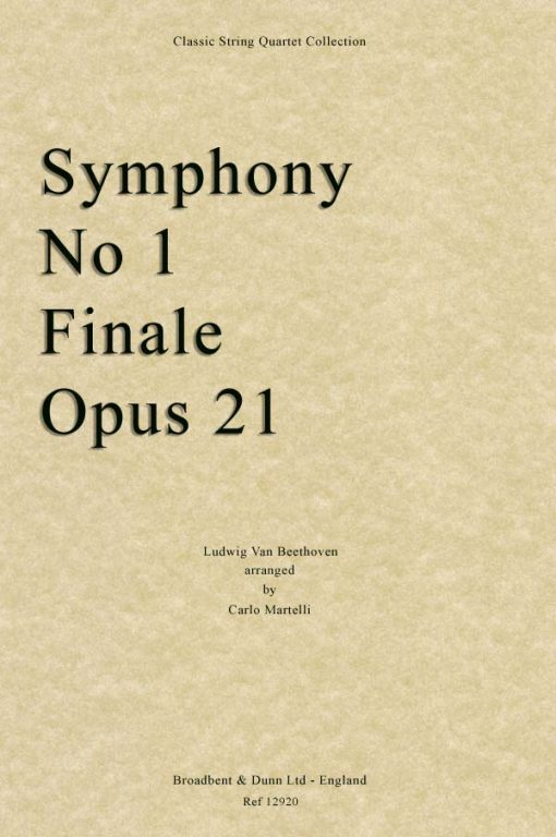Beethoven - Symphony No. 1 Finale