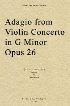 Bruch - Adagio from Violin Concerto in G Minor