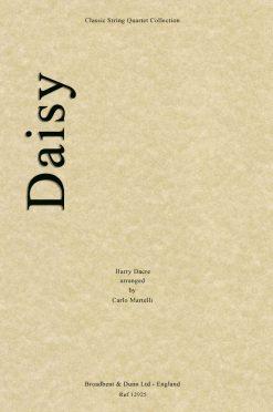 Dacre - Daisy (String Quartet Score)