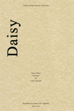 Dacre - Daisy (String Quartet Parts)