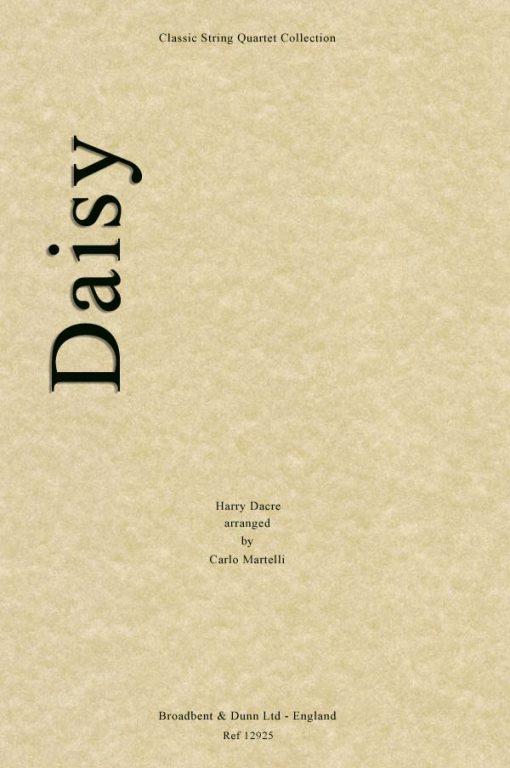 Dacre - Daisy (String Quartet Parts)