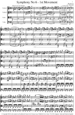Beethoven - Symphony No. 6 Movement 1