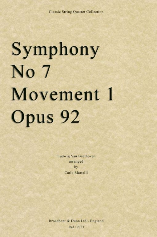 Beethoven - Symphony No. 7 Movement 1