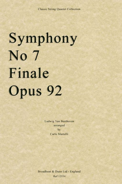 Beethoven - Symphony No. 7 Finale