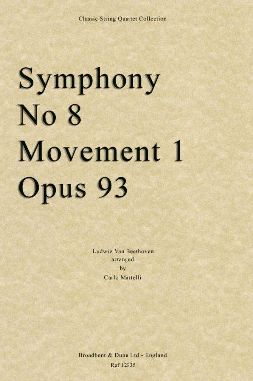 Beethoven - Symphony No. 8 Movement 1