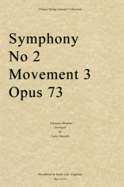 Brahms - Symphony No. 2 Movement 3