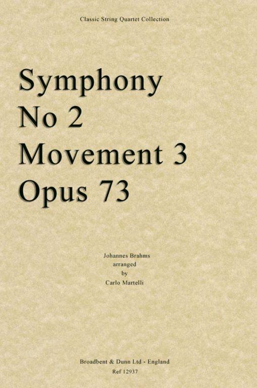 Brahms - Symphony No. 2 Movement 3
